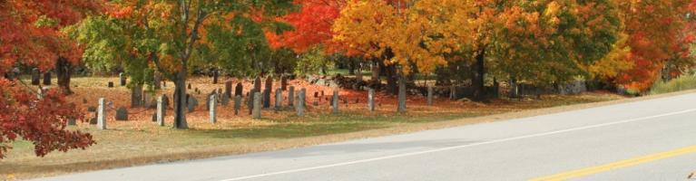 Fall scene in Hampton Falls